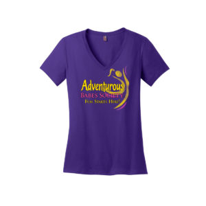 ABS V-neck T-shirt!